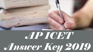 AP ICET 2019 Key, AP ICET 2019 Answer Key