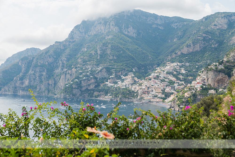 View Positano from hotel San Pietro
