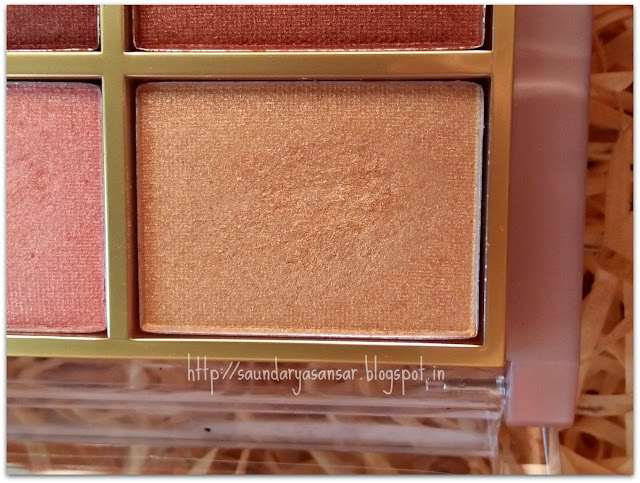 Lakme 9to5 Eye color Quartet: Desert Rose review