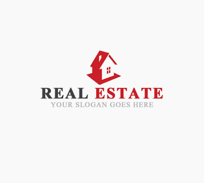 Real Estate Home Logo PNG and PSD Free