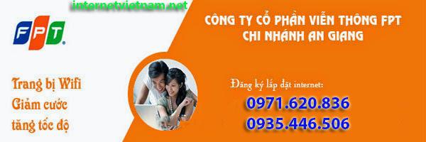 Đăng Ký Internet FPT Huyện Thoại Sơn, An Giang