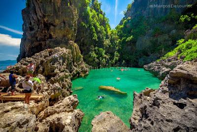 Tangke Lagoon, Islas de Gigantes