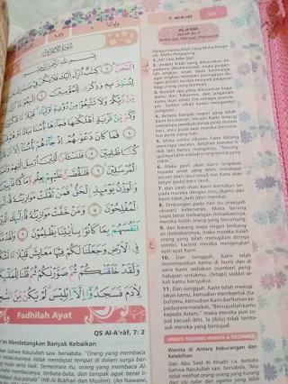 Rainbow Quran Quran Rainbow Al Quran Pelangi Al Quran Wanita Cantik Dan Terlaris Yasmina Zipper Rainbow