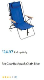 Walmart Beach Chairs and Umbrella 2