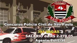 concurso Polícia Civil de São Paulo