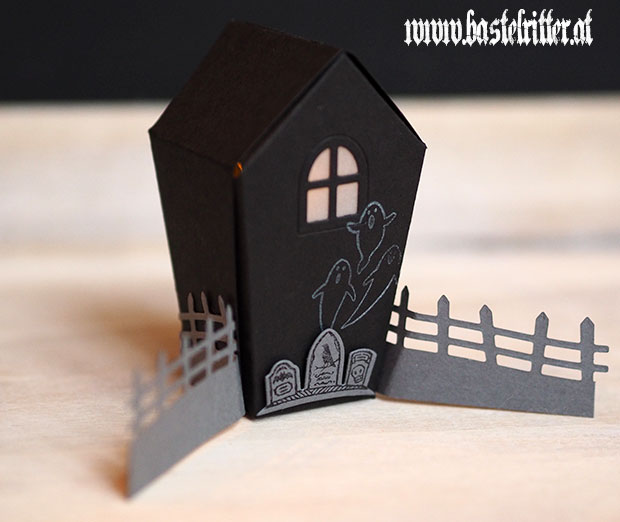Home sweet Home Halloween Szenerie Stampin' up! Bastelritter