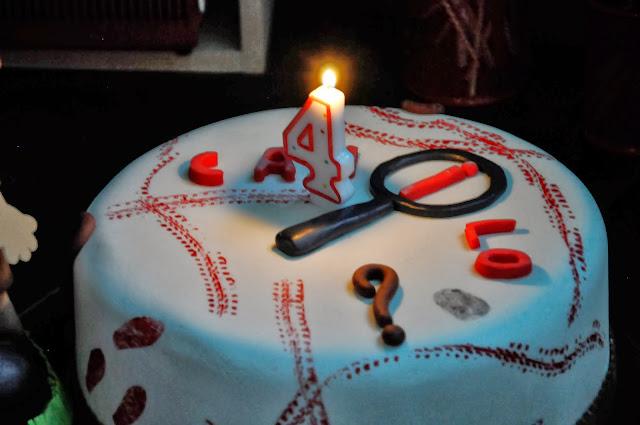 Festejando el cumpleaños de mi hijo