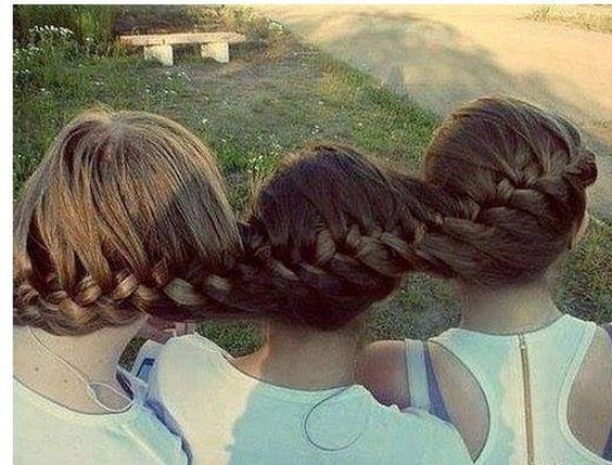 Best Friends Braid Their Hair Together The HairCut Web