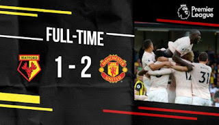 Watford vs Manchester United 1-2