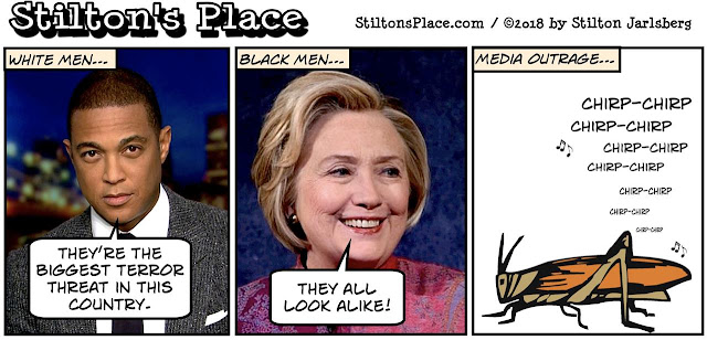 stilton's place, stilton, political, humor, conservative, cartoons, jokes, hope n' change, don lemon, hillary, racism, white males, all look alike, megyn kelly