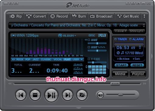 Download JetAudio 8.1.5 Full - Chương trình nghe nhạc hay hàng đầu