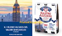 Logo Nastro Azzurro 2018 : vinci buoni vacanza da 5.000€