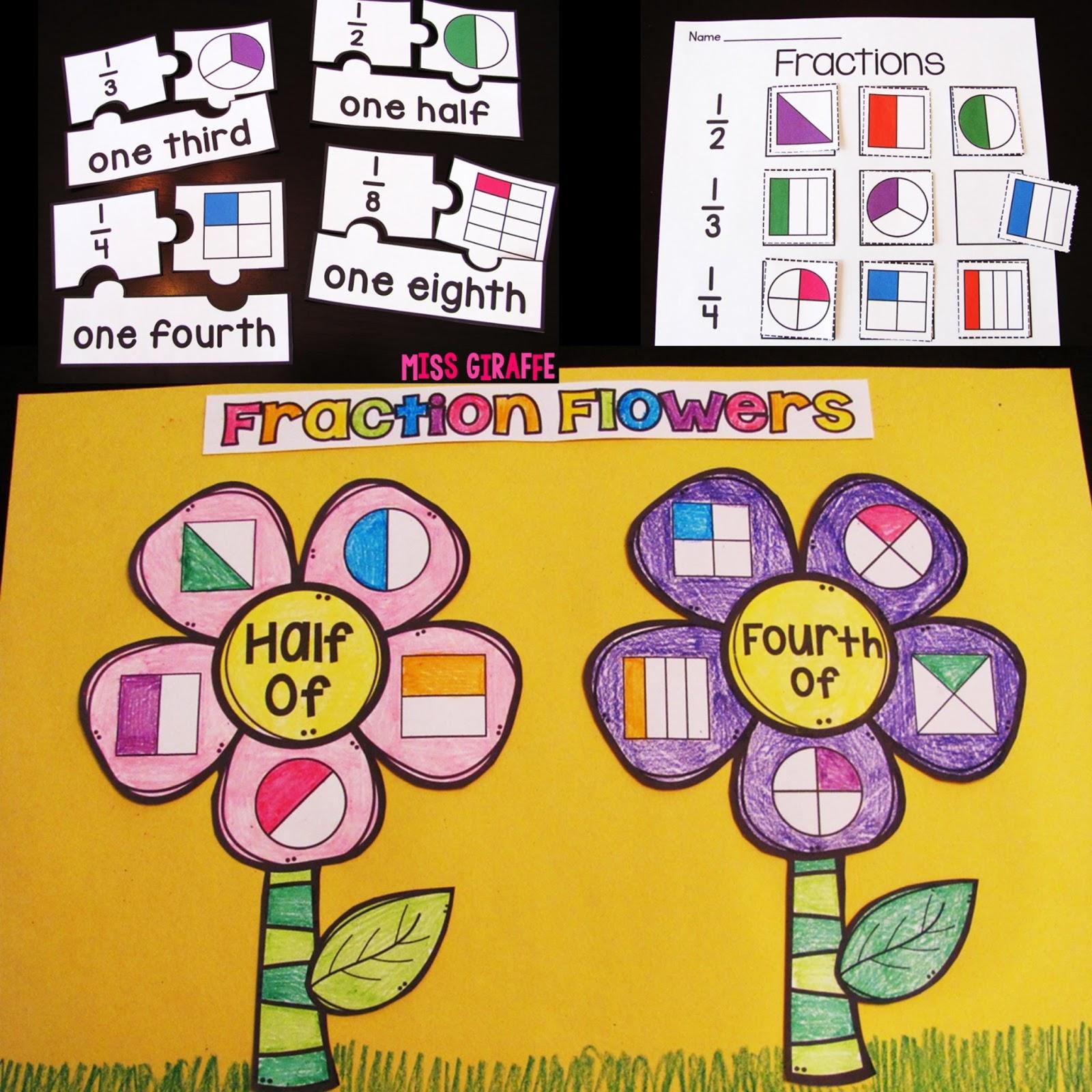 Miss Giraffe's Class: First Grade Math Ideas for the ...