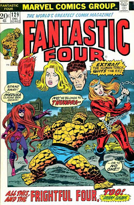 Fantastic Four #129, Medusa and Thundra