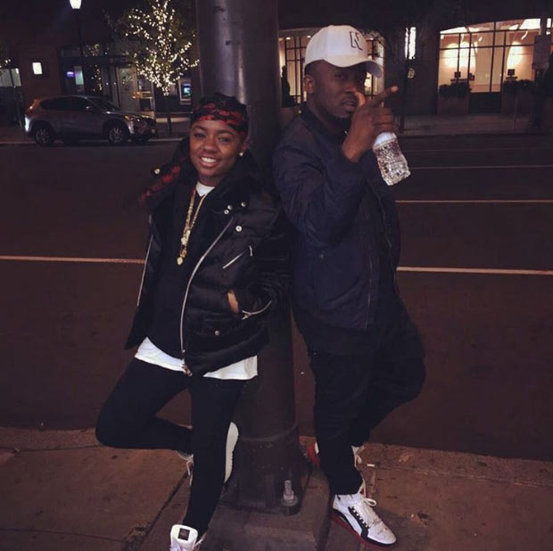 Ice Prince hangs out with Empire Series star, Freda Gatz