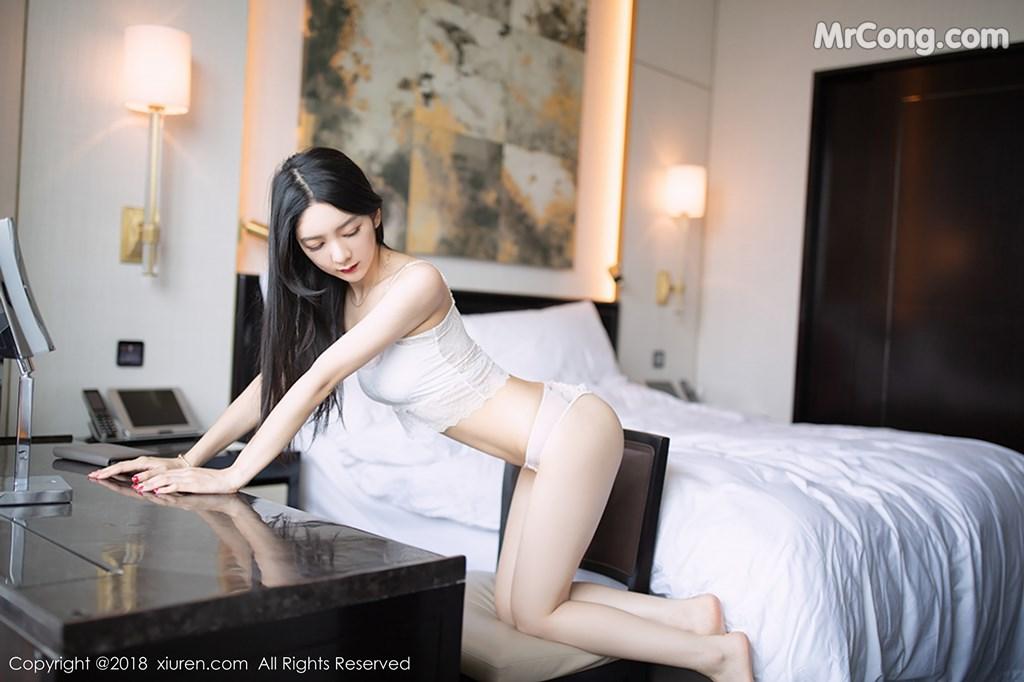 Image XIUREN-No.1194-Xiao-Reba-Angela-MrCong.com-005 in post XIUREN No.1194: Người mẫu Xiao Reba (Angela小热巴) (42 ảnh)