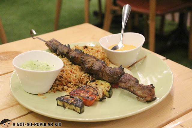 Beef Kebab of Earth Kitchen Restaurant