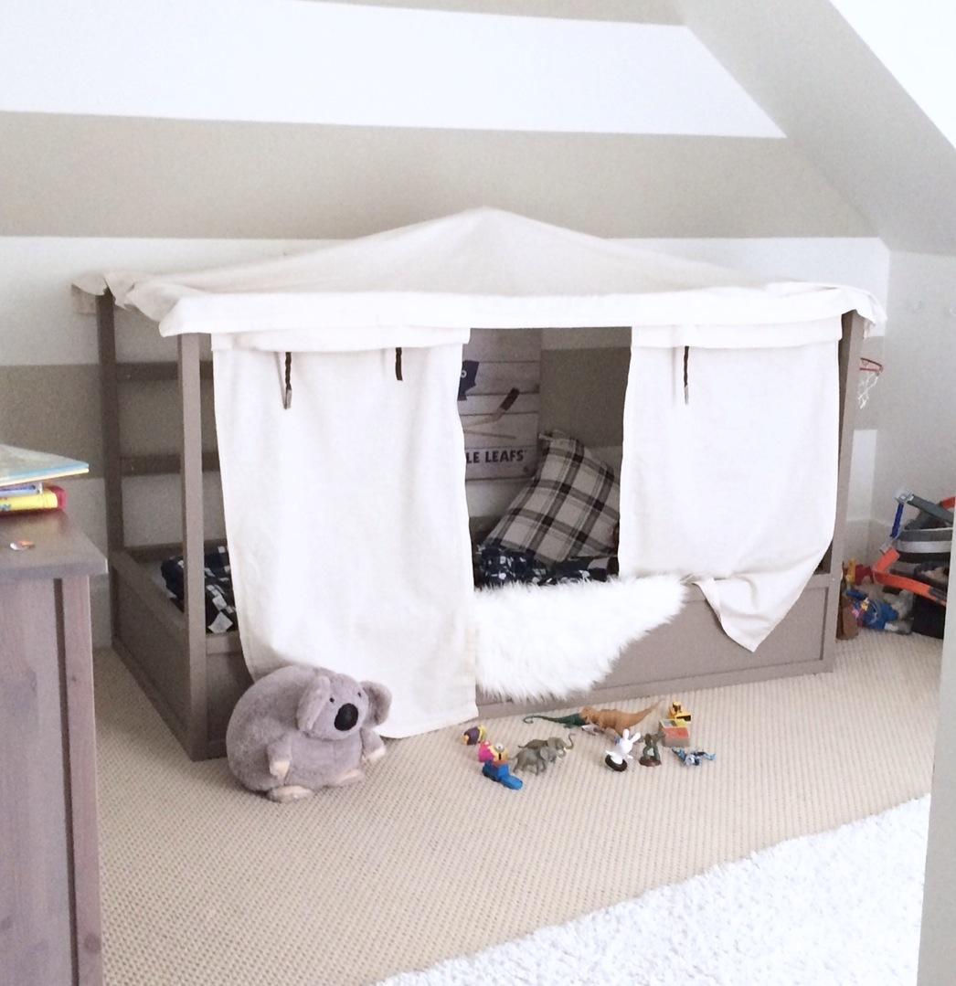 Ikea boys bed 28 images ikea kura bed room ikea kura for Canopy for boys bed