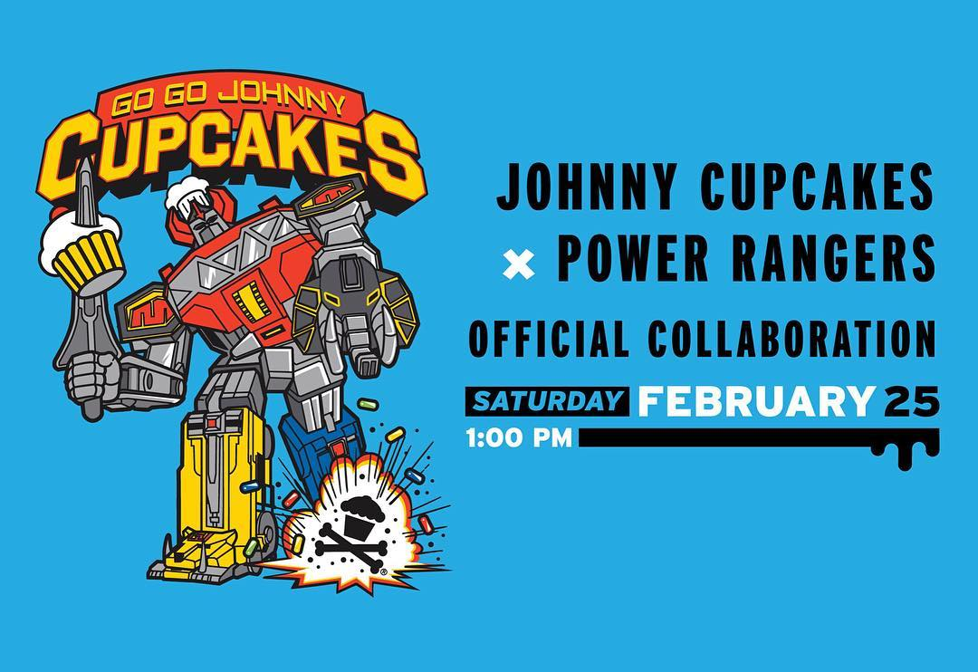 3e6f34368f53 The Blot Says...: Power Rangers x Johnny Cupcakes T-Shirt Collection