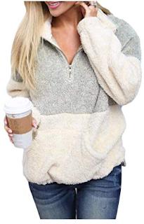 fleece cozy comfy pullover