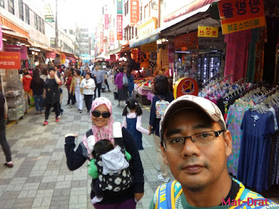 Tempat menarik di Busan Korea Gukje Market Interesting Place