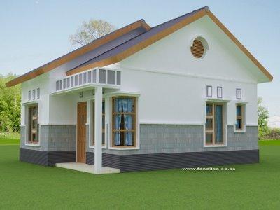 desain/gambar bentuk rumah sederhana - zainul blog