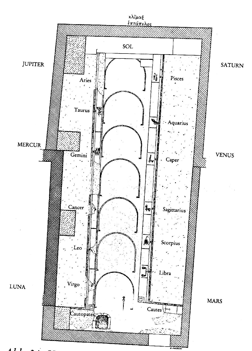 The Book of Persephone.: Ladders- the Seven +1 Gates.