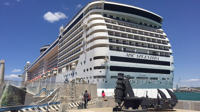 the MSC splendida