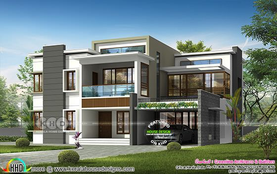 3649 square feet 4 bedroom modern contemporary house