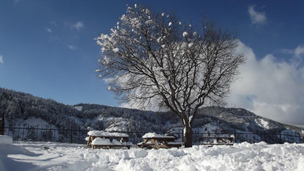 Mudurnu Kar Fotoğrafları