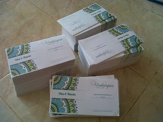Membuat Undangan Pernikahan dengan Menggunakan Kertas Jasmine, cetak undangan sungai bahar jambi