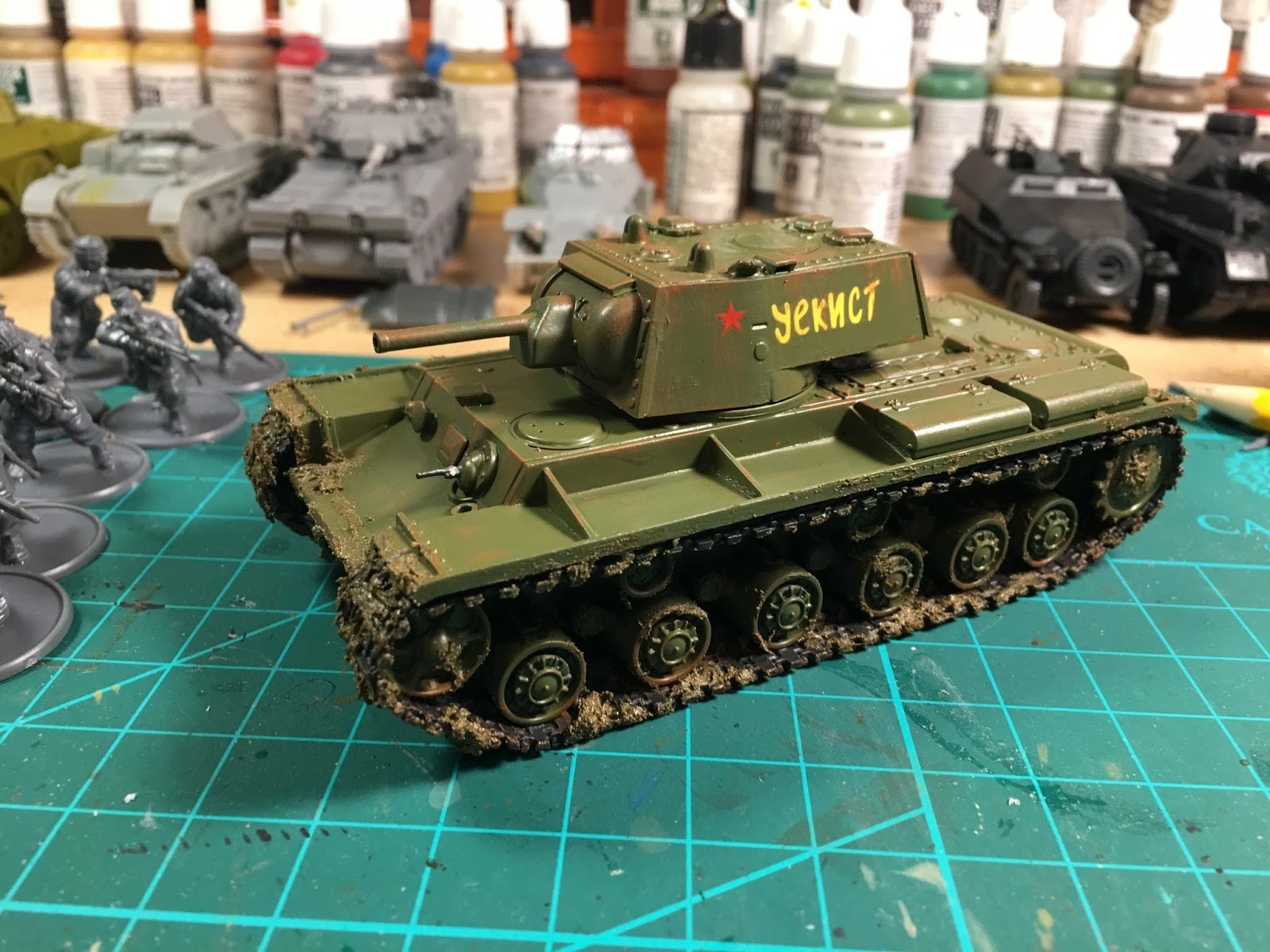 The Analogue Hobbies Painting Challenge: From MilesR: 28mm