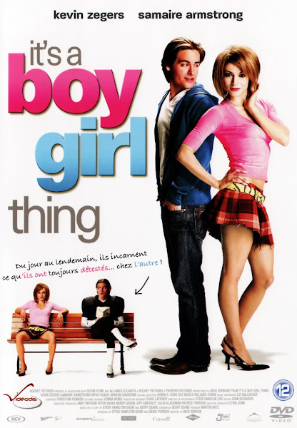 Poster of It's a Boy Girl Thing (2006) UnRated Dual Audio Hindi 720p BluRay Download