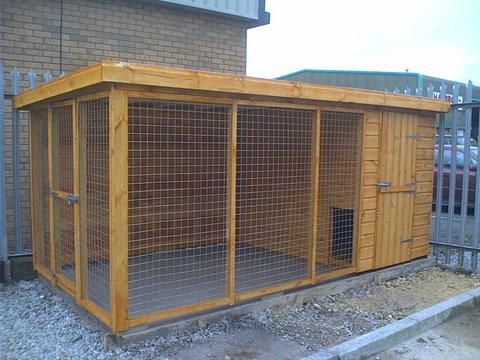 Large Dog Kennel Keep In A Safe