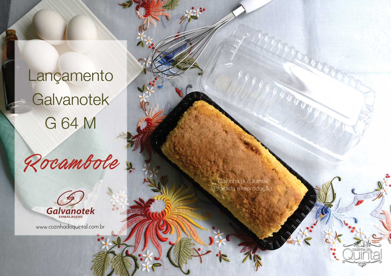 Lançamento Galvvanotek na Cozinha do Quintal: G 64 M - Não utilize as fotos do blog! Plágio é Crime!