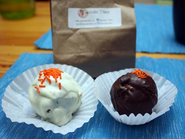 Cupcake Diner pumpkin spice donut holes