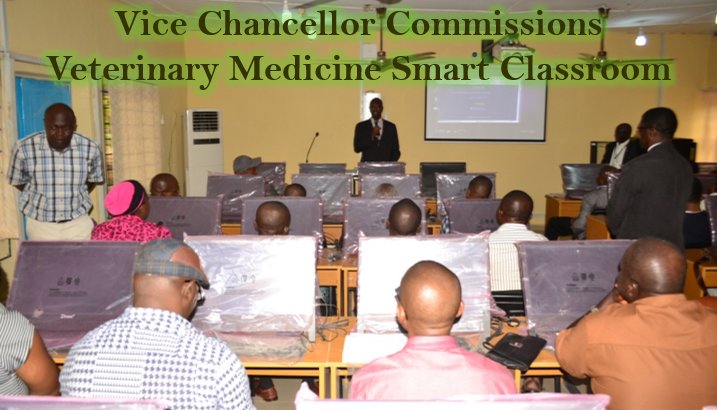 UNN Faculty of Veterinary Medicine Gets Smart-Classroom