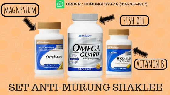 vitamin shaklee untuk masalah murung