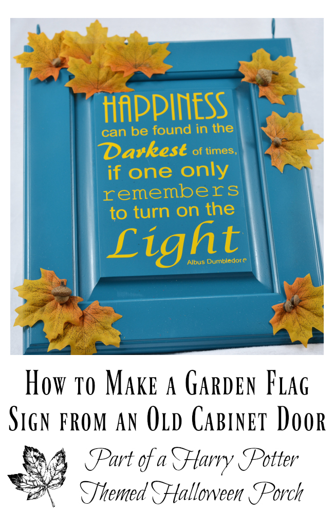 Easy DIY Garden Flag