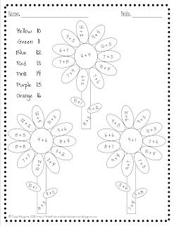 Kindergarten lifestyle spring color by number for Spring coloring pages for kindergarten