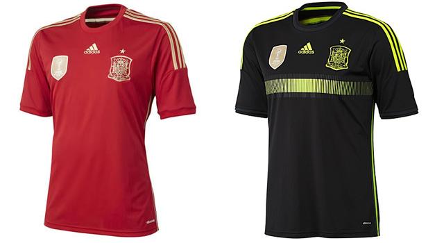 Camisetas selección España Mundial 2014