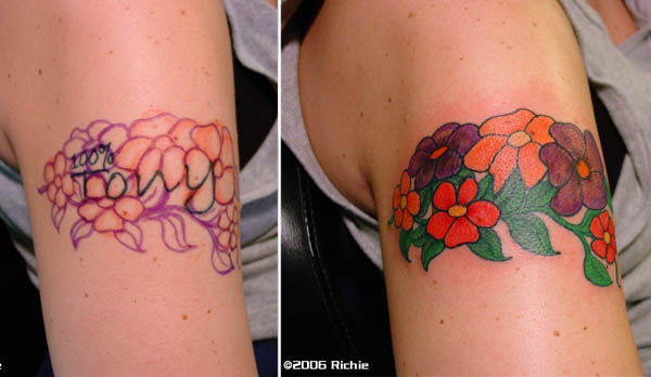 Tribal Tattoo Lower Back Cover Up