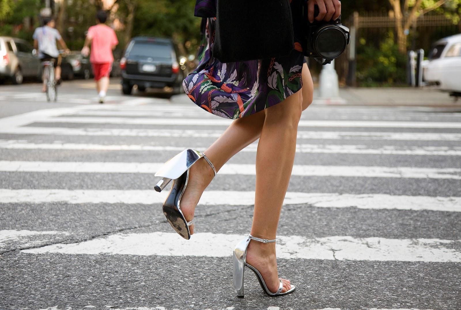 Melania S Shoe Flap