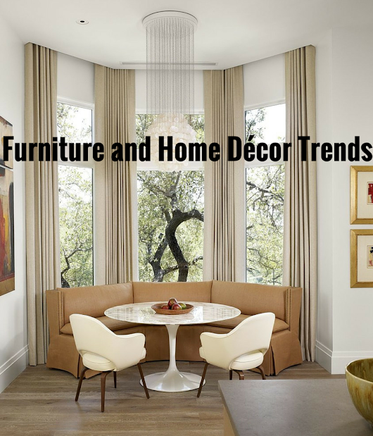 3 Exclusive Furniture and Home Décor Trends to Chase in 2016