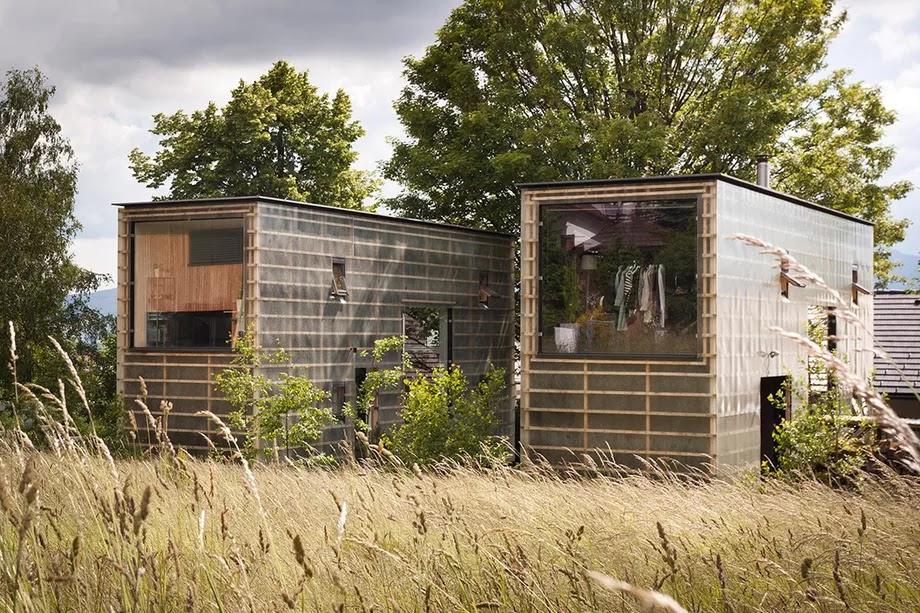 Casas modulares y prefabricadas de dise o casa de madera - Casas prefabricadas con ruedas ...