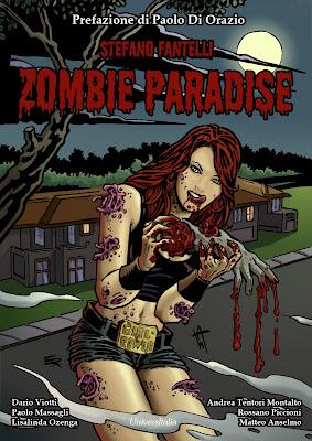 Zombie Paradise, la cover