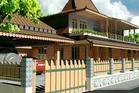Contoh Desain Pagar Rumah Joglo Unik Desain Interior Exterior
