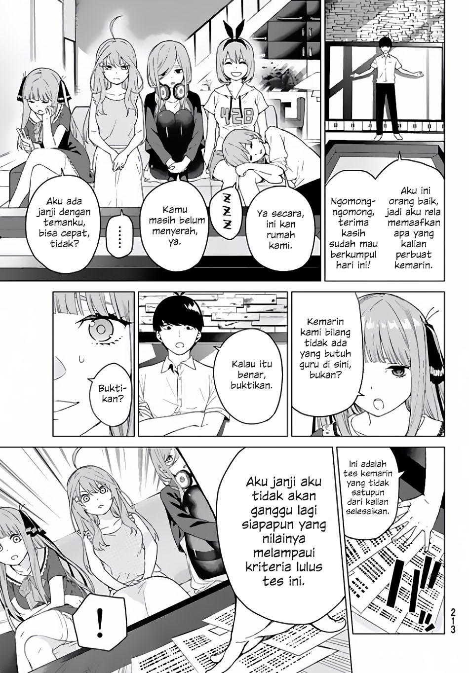Baca Manga Go-toubun No Hanayome Chapter 2 Bahasa Indonesia