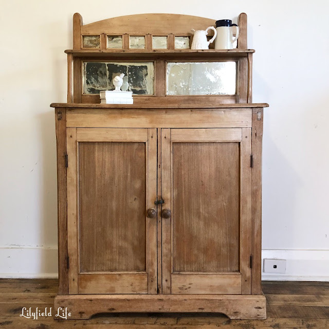 Antique English Pine cabinet, Lilyfield Life