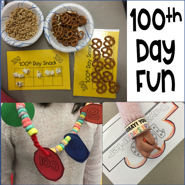 100th day of school celebration activity resources